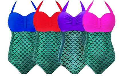 Women's Plus-Size Mermaid Swimsuit