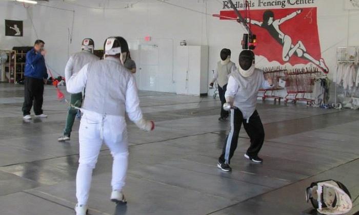 Redlands Fencing Center - Warwick 5: Four Weeks of Fencing Classes at Redlands Fencing Center (54% Off)