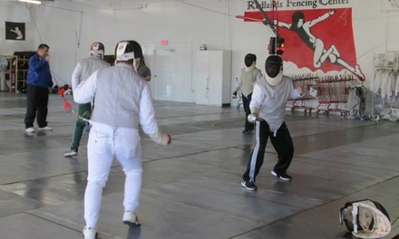 Four Weeks of Fencing Classes at Redlands Fencing Center (54% Off)