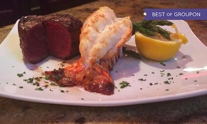 Cavendish & Ross Steakhouse: $55 for $79 Worth of Steaks and Seafood at Cavendish & Ross Steakhouse
