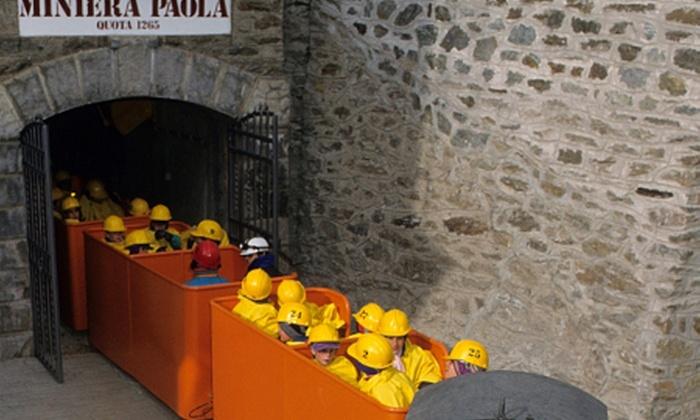 Scoprimiera - SCOPRIMINIERA: ScopriMiniera - Tour sotterraneo alla Miniera Paola con visita guidata a 7 €