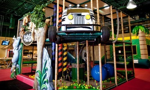 Safari Nation: One, Three, or Five All-Day Passes or Jungle Hut Birthday for Up to 15 Kids at Safari Nation (Up to 50% Off)
