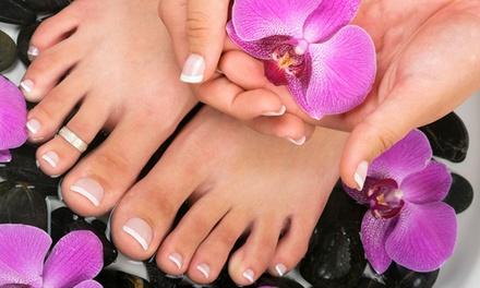 Beauté des mains et pieds avec pose de vernis Shellac au choix dès 13,90 € à lInstitut Impérial
