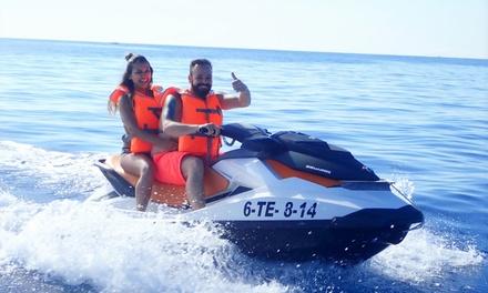 Excursión en moto de agua de 30 minutos para hasta 4 personas desde 29,99 € en Tibu Jet Safari