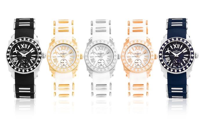site autorisé vraiment à l'aise grosses soldes Montres Aquaswiss serties de diamants | Groupon Shopping