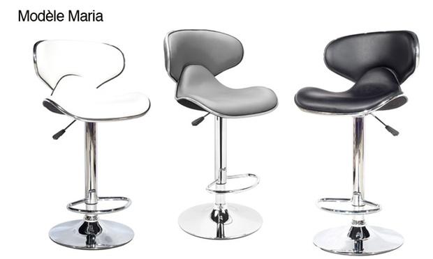 tabourets de bar design groupon shopping. Black Bedroom Furniture Sets. Home Design Ideas