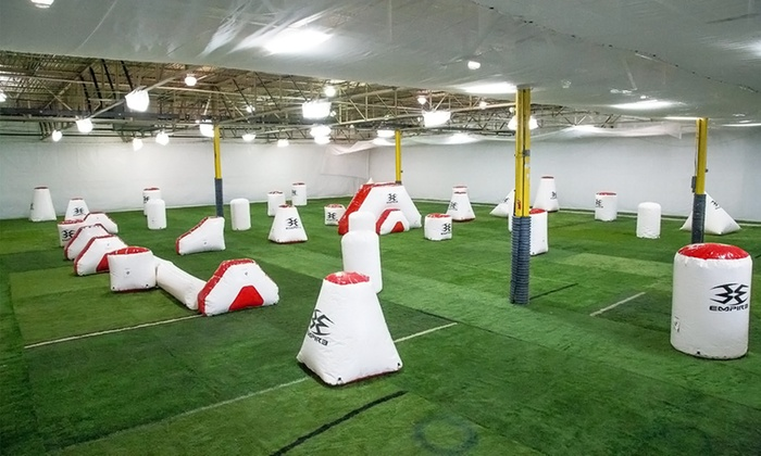 CPX Sports - CPX: Low-Impact Open-Play Indoor Paintball Package for Two, Four, or Eight at CPX Sports (Up to 73% Off)