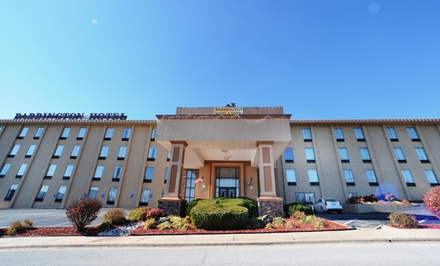 groupon daily deal - Stay at Barrington Hotel & Suites in Branson, MO; Dates into April Available