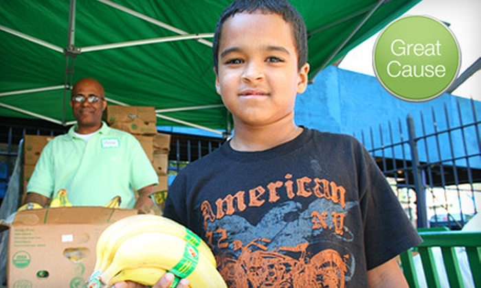 City Harvest - Midtown Manhattan: $5 Donation to Help City Harvest Provide Food for 20 Children Through its Feed the Kids Food Drive