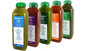 JOOS: 3-, 5-, 7-, or 21-Day Organic-Juice Cleanse from Joos (Up to 56% Off)