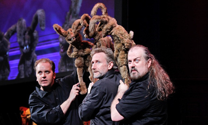 """Henson's """"Puppet Up: Uncensored"""" - Panasonic Theatre: """"Puppet Up: Uncensored"""" at The Panasonic Theatre on October 22–27 (Up to 46% Off)"""
