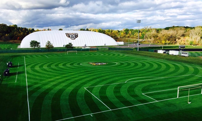 Oakland Men's and Women's Soccer - Oakland Men's and Women's Soccer:  Spring Break Soccer Camp Boys or Girls Age 5–12 at Oakland University Soccer Complex (43% Off)
