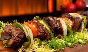 Rotana Mediterranean Restaurant: Mediterranean Food and Drinks for Two or Four at Rotana Mediterranean Restaurant (Up to 42%Off)
