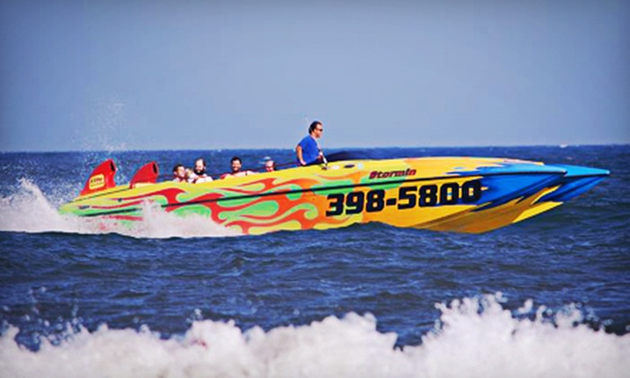 """Stormin"" Shore Water Sports, LLC - Ocean City: $27 for a Speedboat Dolphin Tour with Digital Photo from ""Stormin"" Shore Water Sports, LLC ($54 Value)"