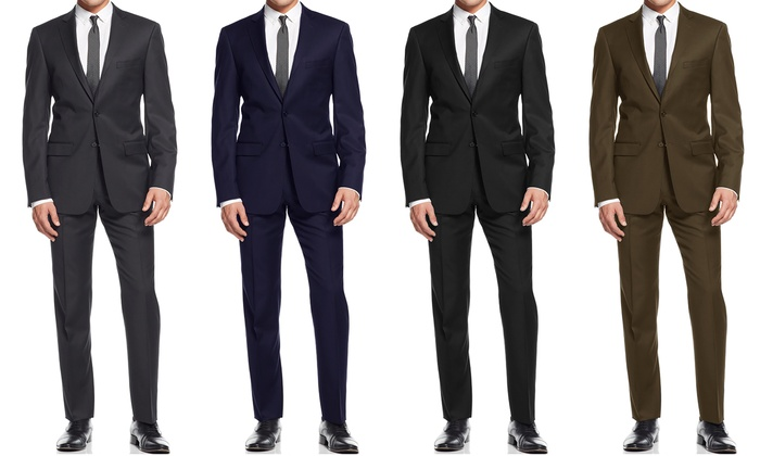 Braveman Slim-Fit Suits (2-Piece)