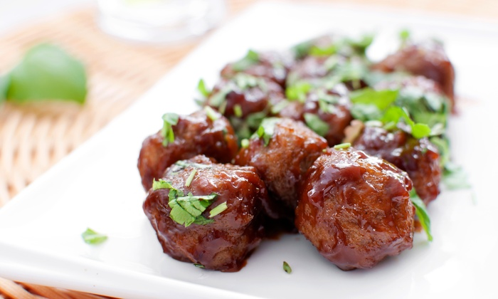 Rustic Tapas and Meatballs - East Village: $21 for Tapas and Drinks for Two at Rustic Tapas and Meatballs (Up to $41 Value)