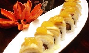 Enzo Sushi & Japanese Hibachi: $10 for $20 Worth of Sushi and Japanese Food at Enzo Sushi & Japanese Hibachi