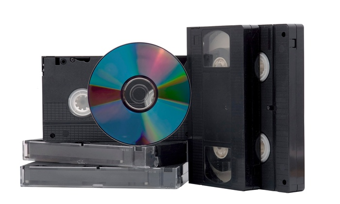 Printergy - Lutherville - Timonium: Videotape-to-DVD Conversion for 1, 3, 5, or 10 Two-Hour Tapes at Printergy (Up to 79% Off)