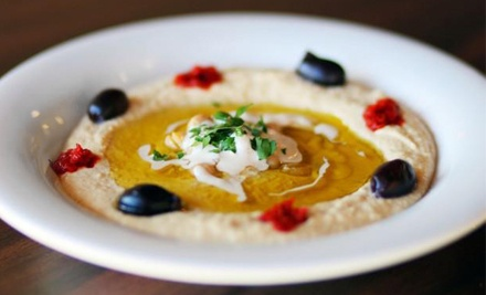 $22 for Two Groupons, Each Good for $20 Worth of Mediterranean Cuisine at The Mediterranean Grill ($40 Total Value)