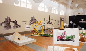 Coral Gables Museum: Entry and One Round of Mini Golf for Two or Four at Coral Gables Museum (Up to 40% Off)