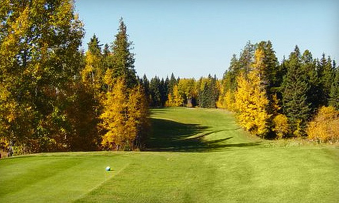 Drayton Valley Golf Club - Drayton Valley: 18-Hole Golf Outing for Two or Four Including Cart Rental at Drayton Valley Golf Club (Up to 52% Off)