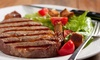 Up to 50% Off Seafood and Steaks at All American Tavern