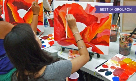 Two-Hour Painting Workshop for One at Painting Lounge (30% Off)