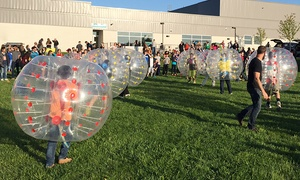 Bubble Soccer Detroit: 5 or 10 Drop-In Play Passes or One-Hour Game with 10 or 20 Bubbles at Bubble Soccer Detroit (Up to 51% Off)