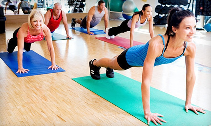 Pulse Fitness Center - Windy Hill: 10 or 20 Boot-Camp or Group Fitness Classes, or a One-Month Fitness Package at Pulse Fitness Center (Up to 84% Off)