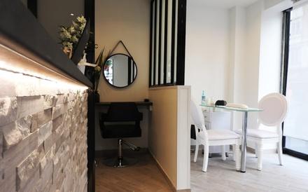 Permanente et/ou teinture des cils et teinture des sourcils, dès 25 € au salon Le Melt Hair & Beauty