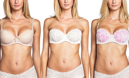 2-Pack Sociology Lace Bras | Groupon Exclusive