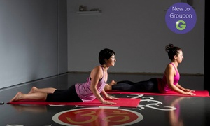 ELEV8 MMA: 10 Yoga Classes for One ($29) or Two People ($49) at ELEV8 MMA, Heidelberg West (Up to $340 Value)