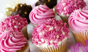 Lovee's Cakes: $13 for One Dozen Gourmet Cupcakes at Lovee's Cakes ($29.99 Value)