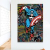 Best of Marvel Art on Gallery-Wrapped Canvas