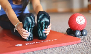 Pure Barre Rochester: 5 or 10 Barre Fitness Classes at Pure Barre Rochester (Up to 59% Off)