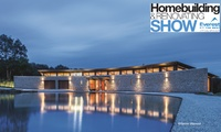 The London Homebuilding & Renovating Show: Two Tickets and a Magazine, 22–24 September at London ExCel (Up to 61% Off)