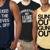 Men's Fitness-Themed T-Shirt or Tank Top