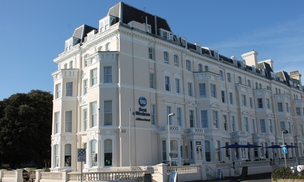 Folkestone: Standard Room with Breakfast • Holiday deals Best Western Clifton Hotel