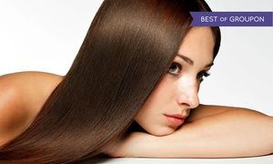 Oneblowdrybar: Blowdry, Brazilian Blowout Treatment, or Keratin Smoothing Treatment at Oneblowdrybar (Up to 50% Off)