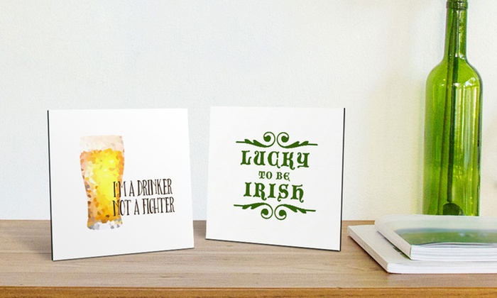 Canvas On Demand: St. Patrick's Day Flat Tabletop Canvas Prints from Canvas on Demand (Up to 83% Off)