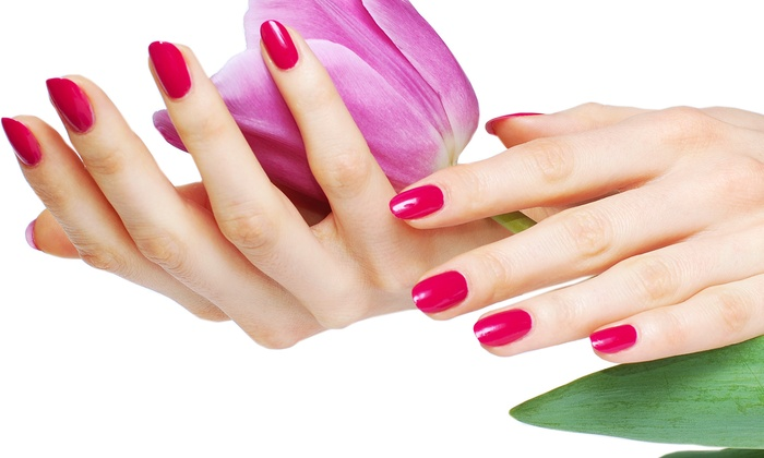 Digitz a Nail Experience - Lake Forest: One or Two No-Chip Manicures at Digitz a Nail Experience (Up to 51% Off)