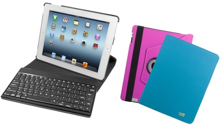 iHome Swivel Bluetooth Keyboard Case for iPad (iH-iP2103). Multiple Colors Available. Free Returns.