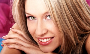 Main Stage Hair Studio: Women's or Men's Cut at Main Stage Hair Studio (Up to 56% Off). Four Options Available.