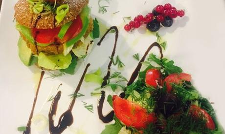 Menú vegetariano o vegano para 2 o 4 con entrante, principal, postre y bebida desde 16,90 € en L'atelier Pan Tan