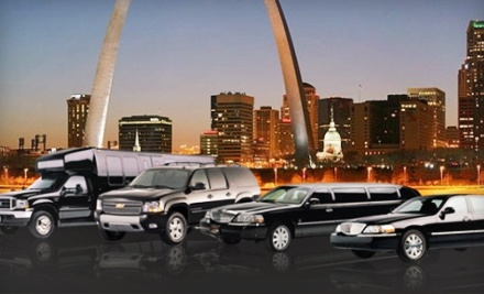 Limousine or Party-Bus Rental for Up to 14 from St. Louis Limousine (Up to 61% Off). Four Options Available.