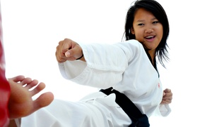 Kims Karate: One or Two Months of Women's Self-Defense Classes at Kims Karate (Up to 59% Off)