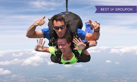 Tandem Skydiving for One or Two from Triangle Skydiving Center (Up to $163 Off)