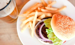 Magoo's Grill: American Food and Microbrews for Two or Four at Magoo's Grill (Up to 55% Off)