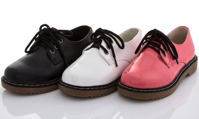 Coco Jumbo Girls' Oxford Shoes | Groupon Goods
