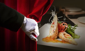 unsicht Bar Berlin: Geflügel-Menü mit 3 oder 4 Gängen im Dunkelrestaurant unsicht-Bar